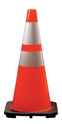Traffic Cones with 3M™ Reflective Collar