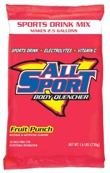 All Sport® Body Quencher® 2 1/2-Gallon Powder Mix Packs